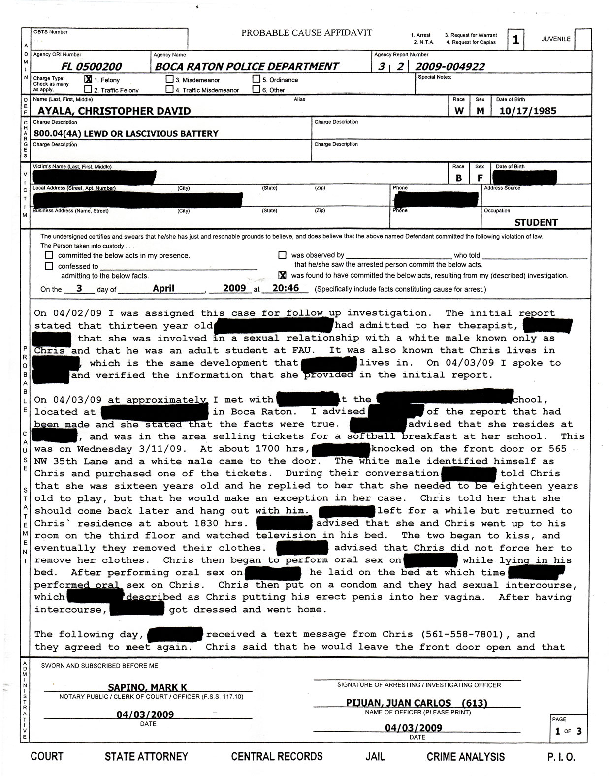 Police Report | Detective Type | Pinterest